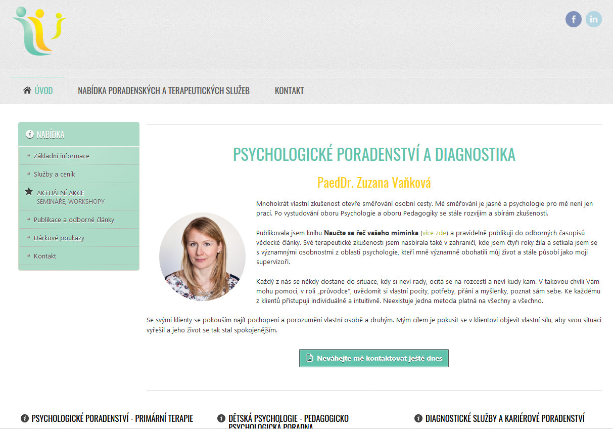 primarniterapie.cz | webový design Aleš Vaněk | creativepeople.cz