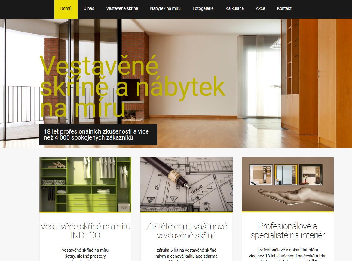 vestavene-skrine-na-miru | webový design Aleš Vaněk | creativepeople.cz